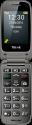 emporia TELME X200 - Handy - Grosse Schriftzeichen - Space Grau