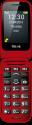 emporia TELME X200 - Handy - Grosse Schriftzeichen - Rot