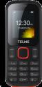 emporia TELME T210 - Telefono cellulare - Dual SIM - Nero