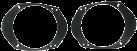 RTA 301.231-0 - Halteplatten für Lautsprecher - Für Ford/Mitsubishi - Schwarz