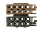 RTA 017.500-0 - Female terminali - Junior Timer 2,8 mm - Argento