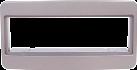 RTA Radioblende - Für Toyota - 1-DIN - Grau