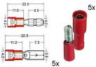 RTA 151.110-0 - Set isoliert - Rot