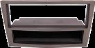 RTA Radioblende - Für Opel Antara, Astra, Corsa, Zafira - 1-DIN - Grau