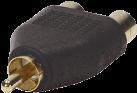 RTA Y RCA adapter - Nero