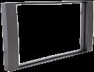 RTA Doppel DIN Radioblende - Für Ford Mondeo/Galaxy - Schwarz