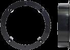 RTA 301.099-0 - Lautsprecher-Halterung - 165 mm - Schwarz