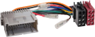 RTA 004.190-0 - ISO Adapterkabel - Für Buick/Chevrolet (USA)/GMC (USA)/Hummer - Schwarz