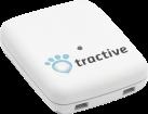 tractive GPS - GPS Tracker für Haustiere - Ermöglicht die exakte Positionsortung Ihres Haustieres - Weiss