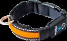 tractive Collare per cani - Taglio M (39-55 cm) - Arancione