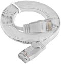 Wirewin CAT6 SLIM UTP - Patchkabel - 1 m - Weiss