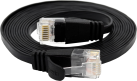Wirewin CAT6 SLIM UTP - Câble Patch - 2 m - Noir