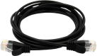 Wirewin CAT6 SLIM LIGHT UTP - Patchkabel - 2.8 mm, Rundes - 2 m - Schwarz
