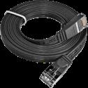 Wirewin - STP-kabel - 3 m - Schwarz