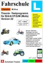 M. Viva École de conduite L Vers. 22. (2018/2019) - Examen théorique pour conducteur de véhicules à moteur (Cat.: B/A/A1/F/G/M), PC/Mac, Multilingue