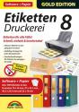 Gold Edition - Etiketten Druckerei 8 mit Papier, PC [Versione tedesca]
