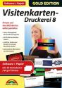 Gold Edition - Visitenkarten-Druckerei 8 mit Papier, PC