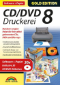 Gold Edition - CD/DVD Druckerei 8 mit Papier, PC [Version allemande]