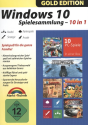 Gold Edition: Windows 10 Spielesammlung - 10 in 1, PC [Version allemande]