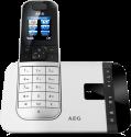AEG Voxtel D575 - Telefono cordless - Segreteria telefonica - Argento