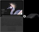 Microsoft Surface Pro - Convertible - 12.3 - i7-7660U - 8 Go RAM - 256 Go SSD (Argent/Noir) + Arc Mouse (Noir) + Type Cover (Noir)