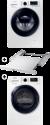 SAMSUNG WW80K5400UW/WS + SAMSUNG DV80M6210CW/WS + SAMSUNG SKK-DD