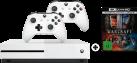 Microsoft Xbox One + 2 Controller + Warcraft L'inizio 4K [Italienische Version]