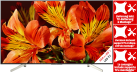 SONY KD-65XF8505 - LCD/LED-TV - 65 - 4K - HDR - 800 Hz - Smart TV - Schwarz/Silber + Wandmontage + Heimlieferung