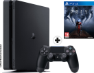 Sony PS4 Slim - Spielkonsole - 500 GB HDD - Schwarz + Prey, PS4