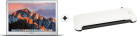 Apple MacBook Air - i5 1.8 GHz - 8 GB RAM - 128 GB SSD - Silber + ISY IOE-700 - Laminator - A4 - 230 mm - Weiss