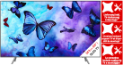 SAMSUNG QE65Q6FN - QLED-TV - 65 - 4K - HDR 1000 - Smart TV - Silber + Wandmontage + Heimlieferung