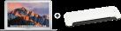 Apple MacBook Air - i5 1.8 GHz - 8 GB RAM - 256 GB SSD - Silber + ISY IOE-700 - Laminator - A4 - 230 mm - Weiss