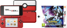 Nintendo New 2DS XL - Poké Ball Edition + Pokémon Ultramond [Französische Version]