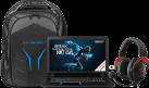 MEDION ERAZER X7843 (MD 99668) - Notebook - 2 TB Festplatte - Schwarz + MEDION ERAZER S89070