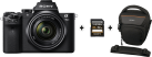 SONY α7 II - Fotocamera mirrorless - Full-frame - 24.3 MP - Wi-Fi - Nero + SONY Professional Scheda di memoria SD 32 GB + SONY LCS AMB Custodia morbida