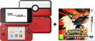 Nintendo New 2DS XL - Poké Ball Edition + Pokémon Ultrasonne [Französische Version]