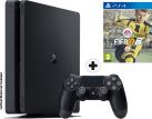 Sony PS4 Slim - Console - 1 To HDD - Noir + FIFA 17, PS4, multilingue