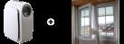 SONNENKÖNIG Fresco 1000 + SONNENKÖNIG Fensterkit - Mobil