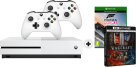 Microsoft Xbox One S + Forza Horizon 3 (Play Anywhere DLC) - 500GB - Weiss + Microsoft Xbox One Wireless Controller, weiss + Warcraft Le commencement 4K [Französische Version]