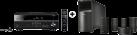 BOSE Acoustimass 10 Series V + Yamaha RX-V481D