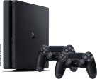 Sony PlayStation 4 Slim 500GB inkl. 2 Controller