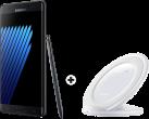 Samsung Galaxy Note7 - Smartphone - 64GB - nero + SAMSUNG Wireless Charger Stand, bianco