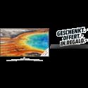 SAMSUNG UE65MU8000 - LCD/LED-TV - Schwarz/Silber