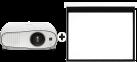 Epson EH-TW6700W - projecteur 3LCD - 30-300 - blanc + Multibrackets 0410