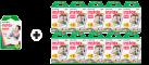 FUJIFILM instax mini Film 10 (10 feuille) - Caméra Film + FUJIFILM Instax mini Film 10 (10 x 2-er Pack = 200 feuille) - Caméra Film