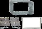 RTA 002.064-0 - 2-DIN masque - Pour Mercedes C/CLC/G - Noir