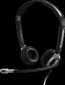 SENNHEISER CC 550 IP - Headset - Ultra Noise Cancelling-Mikrofon - Schwarz