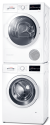 BOSCH WAT28410 - Lavatrice  - 7 kg - Bianco + BOSCH WTW85540CH - Pompa di calore - Classe di efficienza energetica: A++ - Bianco + BOSCH WTZ11400