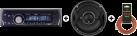 CALIBER RMD234DBT + JBL GTO Series GTO529 + RENEGADE 10 m LS-Kabel 1,5 mm² REN1510SC - Lautsprecherkabel - Rot