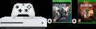 Microsoft Xbox One S + Gears Of War 4 (DLC) - 1To - blanc + Dead Rising 4, Xbox One, multilingue